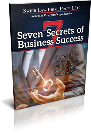 Swier Law Firm's Seven Secrets Of Business Success™
