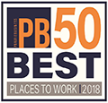 PB 50 Best Places to Work 2018
